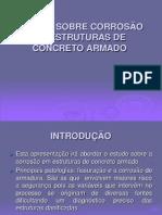 Estudo Sobre a Corrosao Em Estruturas de Concreto Armado - PF