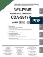 Alpine CDA-9847R En
