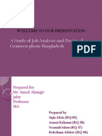 Grameen Job Analysis and Design