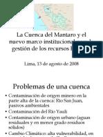 Cuenca Mantraro y Leyes de Cont