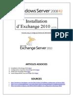 Installation d'Exchange 2010 (tuto de A à Z)