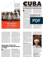 Cuba Libertaria, nº 02, mayo 2004 - El sindicalismo independiente