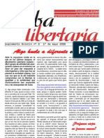 Cuba Libertaria, nº 08, 1 mayo 2008 (suplemento) - Algo huele diferente en Cuba
