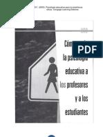 Henson y Heller (2000) Psicología Educativa para la enseñanza eficas