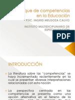 5. EL ENFOQUE DE COMPETENCIAS EN LA EDUCACIÓN