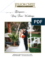 Brochure Wilson Creek Weddings Daytime