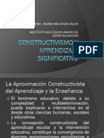 4.Constructivismo y Aprendizaje Significativo