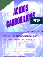 AAAAAAAUNIDAD 4D Acidos Carboxilicos