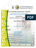 PRACTICA N° 05 - MEDICION DE LA RESPIRACION Y DE LA TRANSPIRACION