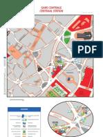 Bruxelles - Plan STIB 2011 - Quartier Gare centrale