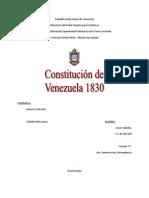 Constitución de Venezuela 1830