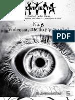 Movimiento, nº 06, enero-junio 2010 - Violencia, miedo y seguridad