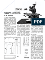 (Diy) - Metalworking - Model Engineer Aug53' - Surface Grinding & Milling Machine