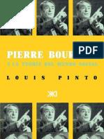 Pierre Bourdieu y La Teoria Del Mundo Social
