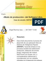 Modo de Producción del Software Libre