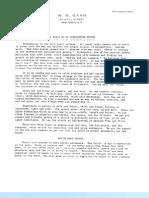 W.D.gann - The Basis of My Forecasting Method