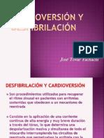 Cardioversión y desfibrilación