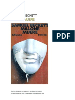 Beckett s Malone