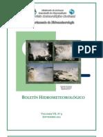 BOLETIN_HIDROMETEOROLOGICO_SEPTIEMBRE_2011