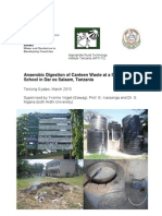 Anaerobic Digestion of Canteen Waste in Tanzania Using ARTI Digesters
