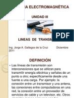 lineas de transmision Unidad III