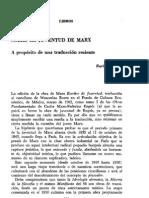 Ed_sobre La Juventud de Marx