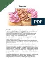 Apostila de Cupcakes Com Fotos e Receitas Dosite Bem Feitinho