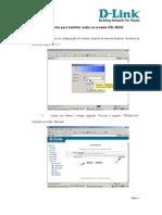 DSL-502G - Telemar - Procedimento Para Atualizacao