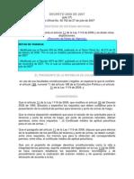 DECRETO 2858 2007