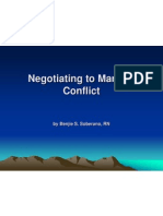 Negotiating for Success PPT