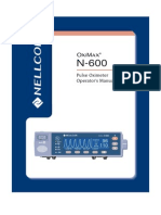 Manual Oximetro Nellcor N-600