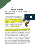 O presidencialismo de coalizáo Sérgio Abranches veja 2000