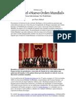 Pierre Hillard - Globalización - Historia del Nuevo Orden Mundial (New World Order)