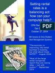 Rates Balancing Act