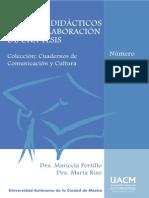 Apuntes didácticos para la elaboración de una tesis