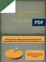 El suicidio y las discapacidades físicas (Conferencia) Rosa Elena