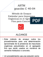 9 - ASTM C40-04