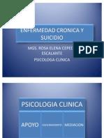 Enfermedad Cronica y Suicidio. Machala