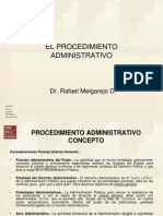 Procedimiento Administrativo Dr Melgarejo