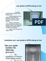 Installation and User Guide for WIN2000 XP