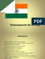 Independencia de India, Pakistán y Bangladesh.