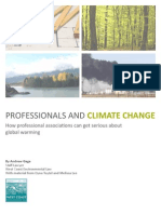 Professionals and Climate Change