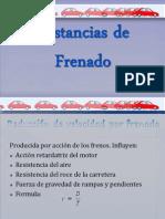 DISTANCIAS DE FRENADO