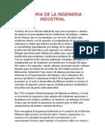 Historia de La Ingenieria Industrial 1