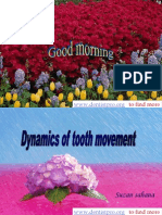 Dynamics of Tooth Movement