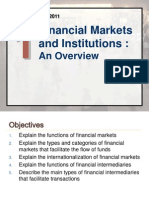 1 Overview of Financial Markets