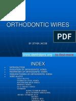 Orthodontic Wires