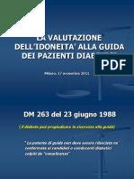 Slides Diabete Guida Milano 2011