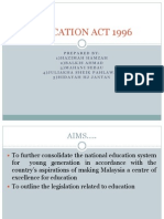 Education Act 1996