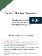 08 Random Number Generation